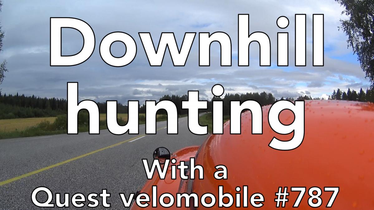Alamäkien metsästystä / Downhill hunting