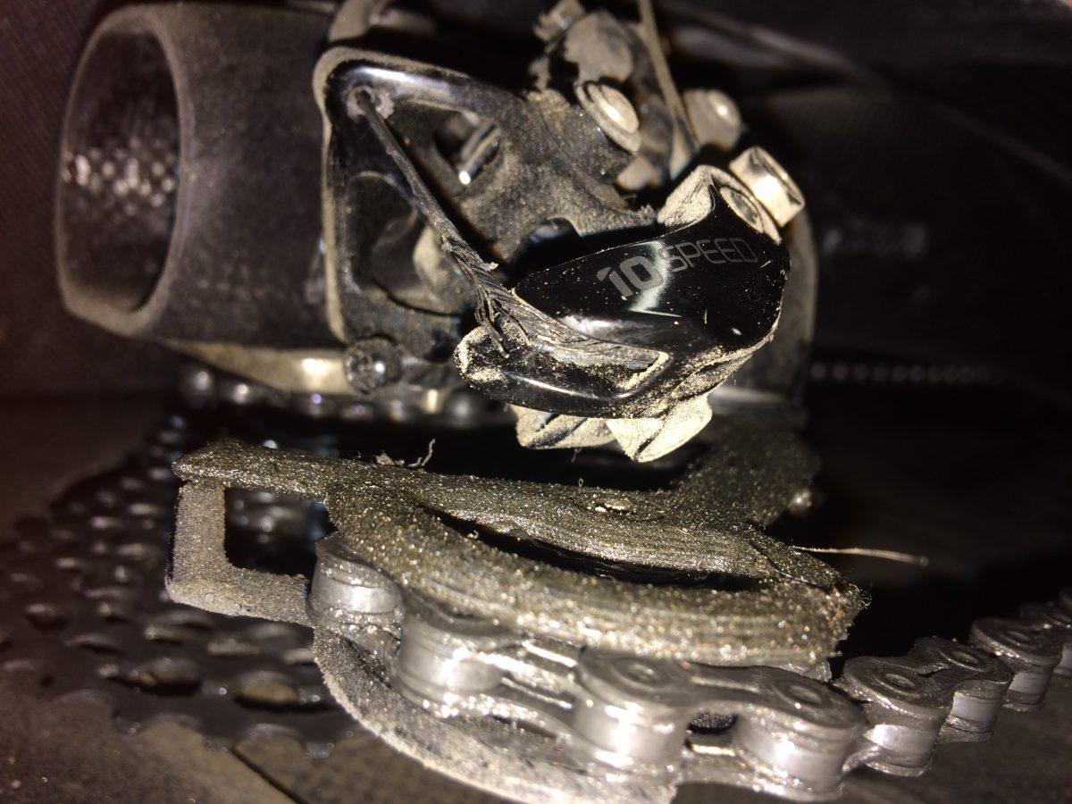 Takavaihtajan vaijeri / Rear derailleur cable